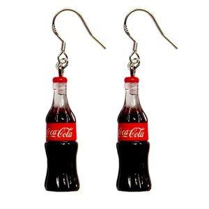 New 925SilverColaCola Bottle Hook Earrings